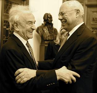 Eli Wiesel & Colin Powell