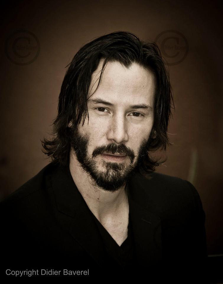 *legende* 10 ieme Festival International du Film de Marrakech. Photocall de Keanu Reeves et James Caan pour le film Henry s Crime
