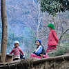 Hilltribe people in northern Thailand, close Myanmar border.