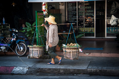 On the streets, Chiang Mai, Thailand, 2012