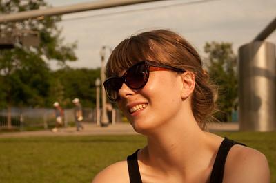 Karly in Millenium Park