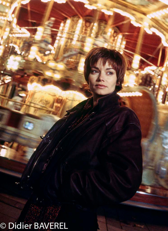 10 Nov 1998, Paris, France --- French Actress Ingrid Chauvin --- Image by © Didier Baverel
