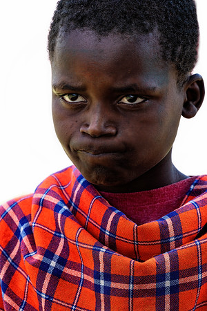 Kenyan Village Boy Copyright 2021 Steve Leimberg UnSeenImages Com _DSC3126