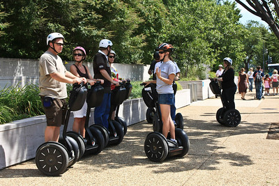 Segway tours are now very popular in DC.