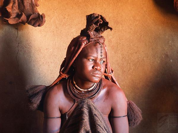 Himba Woman - Kamanjab, Namibia