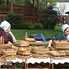 Amish basket sale.