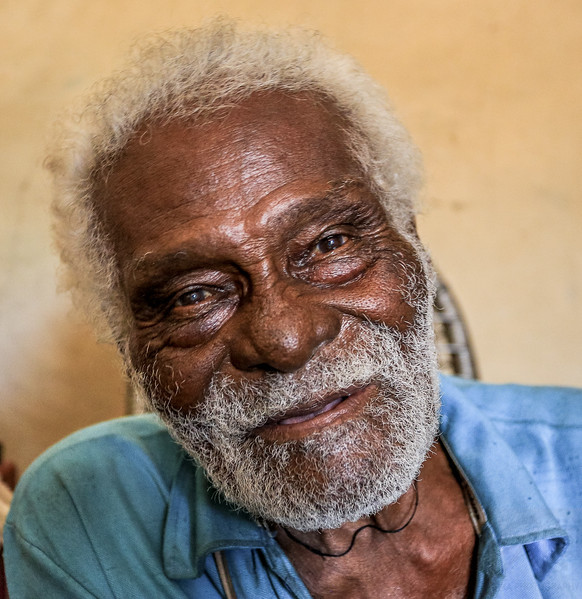 Mr. Abelo, a 107 years old man at Jalapão, Tocantins - Brasil