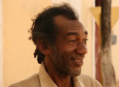 Schaakleraar, Remedios, Cuba.