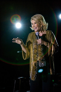 Joan Rivers at the Lucky Brand Black Tie & Jeans Gala 2009