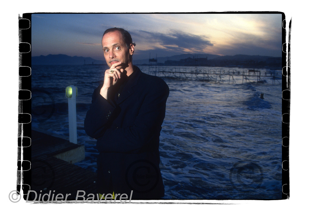 John Waters at Cannes Festival