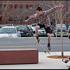 Skateboarders at University of Utah - near the Library on a spring day - Nikon d2h with 80-200mm af-s f2.8.