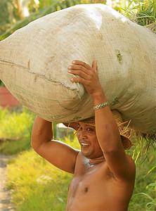 Amlapura, Bali, Indonesië.