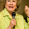 Sen. Elizabeth Dole speaks to the Chamber of Commerce during a luncheon at the Brook Valley Country Club Tuesday afternoon.