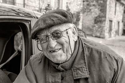 Le Maquisard.  Resistance Veteran. Aurel, Vaucluse 2013