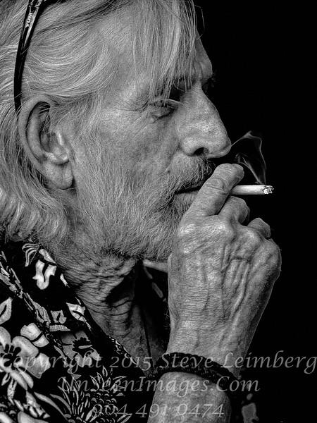 Steve Malone - Artist B&W II - Copyright 2015 Steve Leimberg - UnSeenImages Com _M1A1016