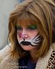 A sad Catwoman at Turkish Festival, Monterey Ca.