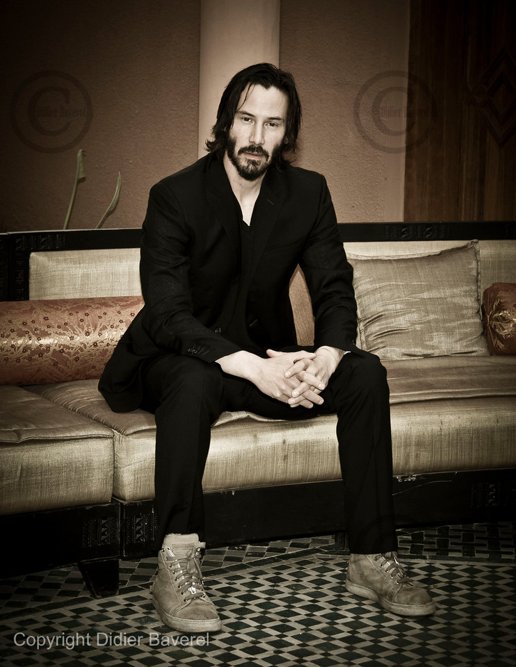 *legende* 10 ieme Festival International du Film de Marrakech. Photocall de Keanu Reeves et James Caan pour le film Henry s Crime