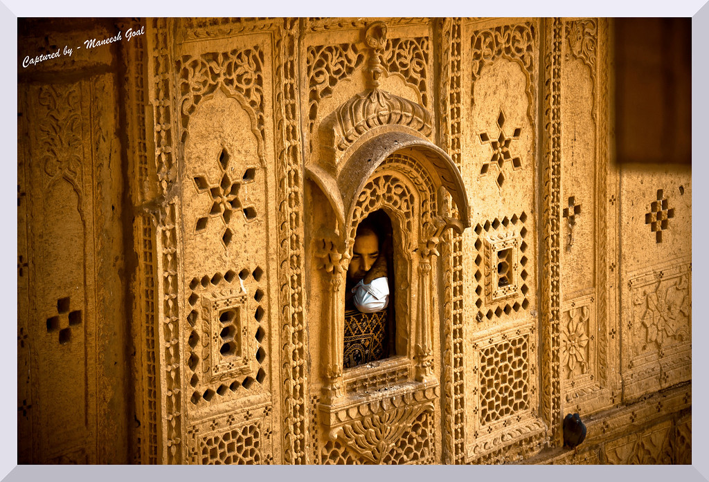 Ornate Window - Jaisalmer Fort, Rajasthan
