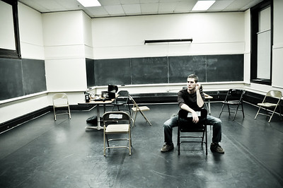 In rehearsal for 'columbinus'