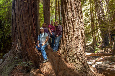 At Julia Pfeiffer State Park, Big Sur California