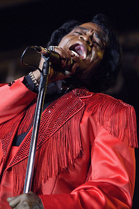 James Brown at the Lucky Brand Black Tie & Blue Jean Gala