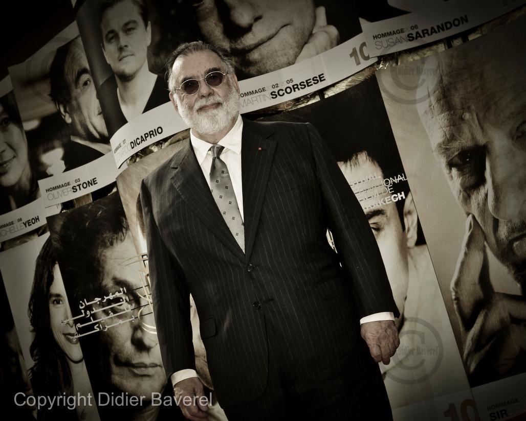 *legende* 10 ieme Festival International du Film de Marrakech. Photocall de Francis Ford Coppola