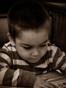 11/24/11:  Tristin (my grandson)  Happy Thanksgiving!