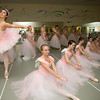 Ladies practice for their performance of the Nutcracker Thursday evening.