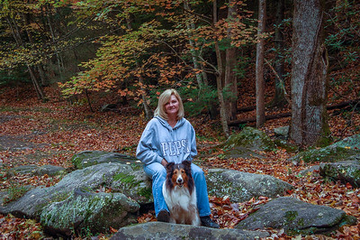 Edie and Darby GSMNP  Fall 2009