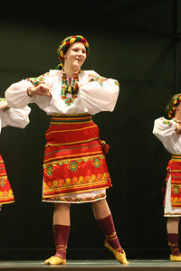 Ukrainian dancer