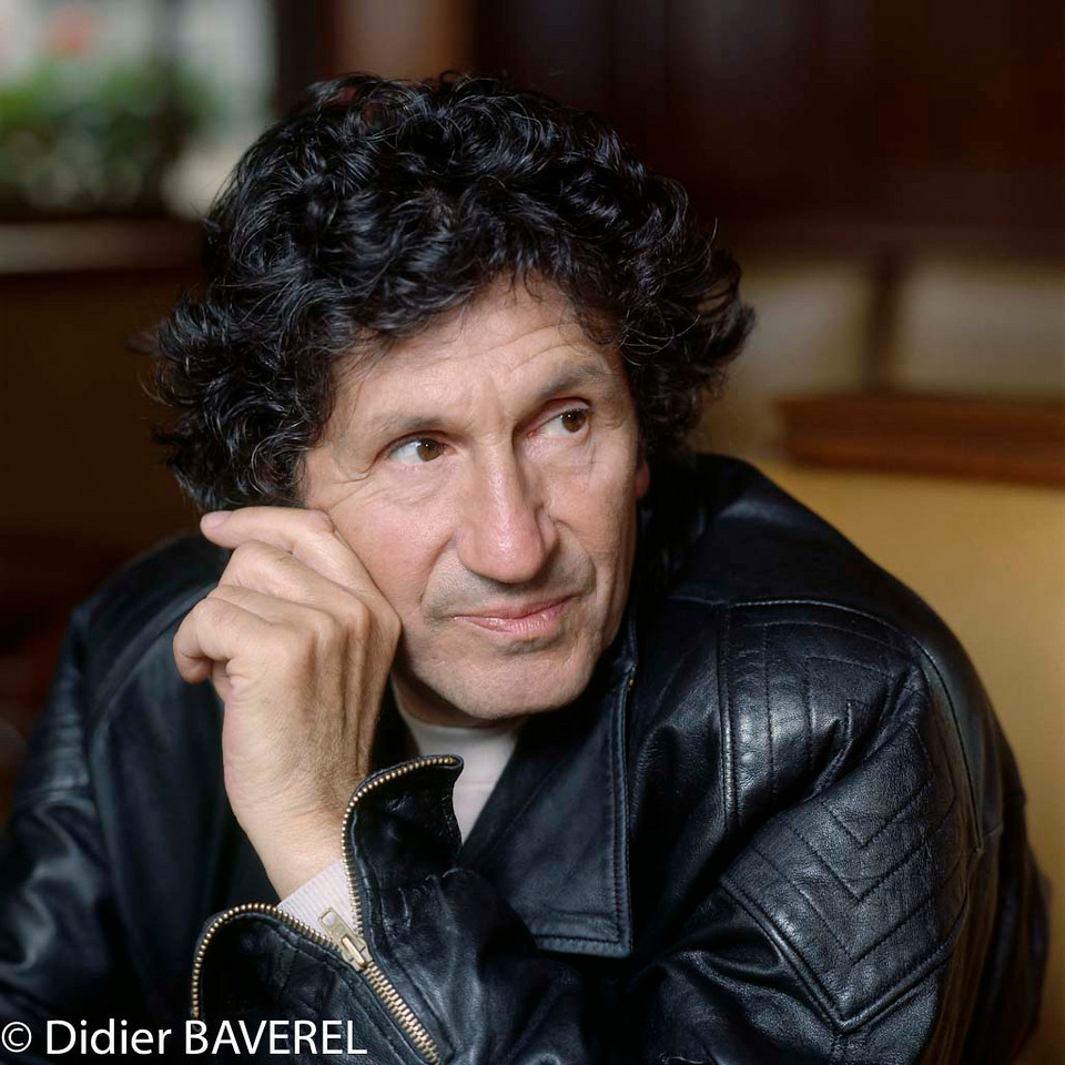 1990s, Paris, France --- French Author, Composer and Singer Marcel Mouloudji --- Image by © Didier Baverel