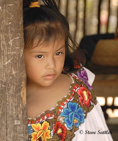 Mayan Girl - Mayan Rivierra, Mexico