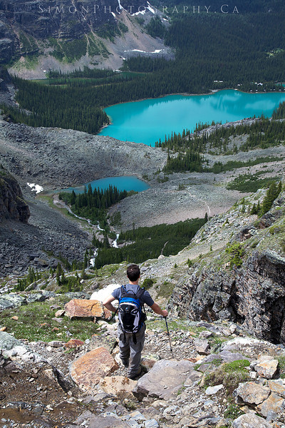 Hiking Lake O'hara