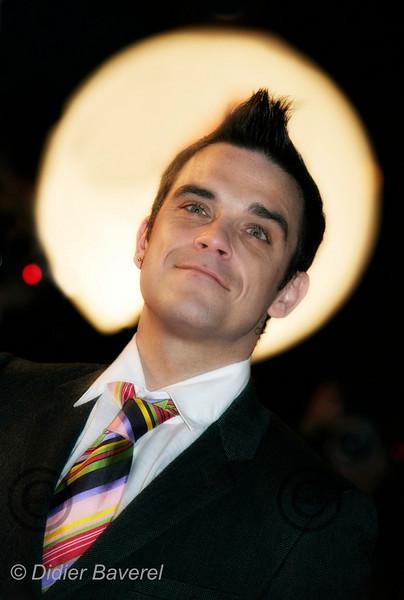 Robbie Williams, CANNES  LE 21/01/2006 7 IEME NRJ MUSIC AWARDS ©Didier BAVEREL