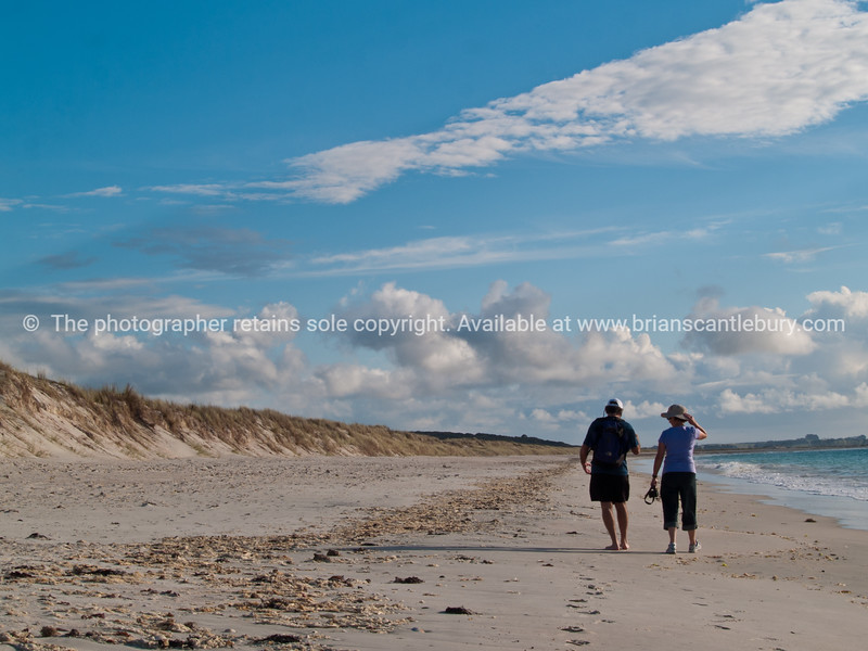 Karikari Beach, The far north of New Zealand. New Zealand photographic stock images.<br /> Model released; no, for editorial & personal use.
