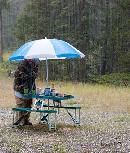 Hail Storm, Camping