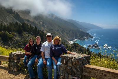 At Big Sur, California