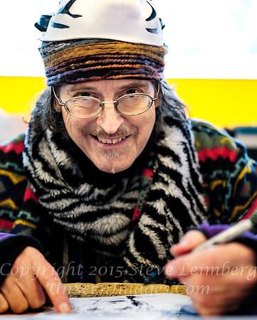 Jon Strongbow - Pikes Market Seattle Artist - Copyright 2017 Steve Leimberg UnSeenImages Com  _DSF8884