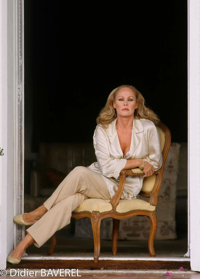 1990s, France --- Swiss Actress Ursula Andress --- Image by © Didier Baverel