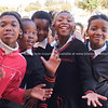 "Enthusiastic scholl kids gather and  pose for the camera. <br />  <a href=""http://smu.gs/YlqpWr"">http://smu.gs/YlqpWr</a> FOR MORE AFRICAN IMAGES.<br /> Model Release; No. Editorial or personal use only."