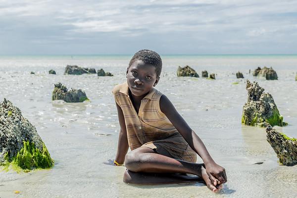 Girl in Murrubué - Pemba, Mozambique