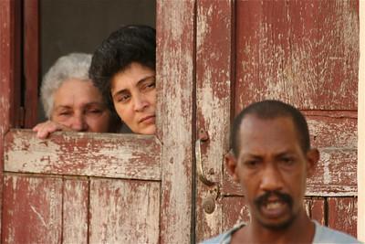 Nieuwsgierigheid in de straten van Cuba.