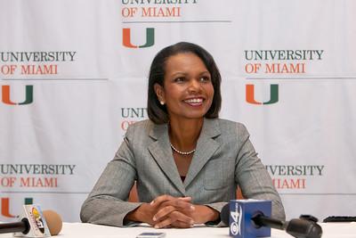 Condoleezza Rice at UM 2012