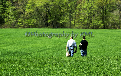 Walking in the Field