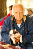 This man was selling puppies at the 'First Monday' Flea Market in Canton Texas and let me take his picture.