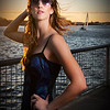 Practicing off-camera flash at Vallejo Ferry Terminal