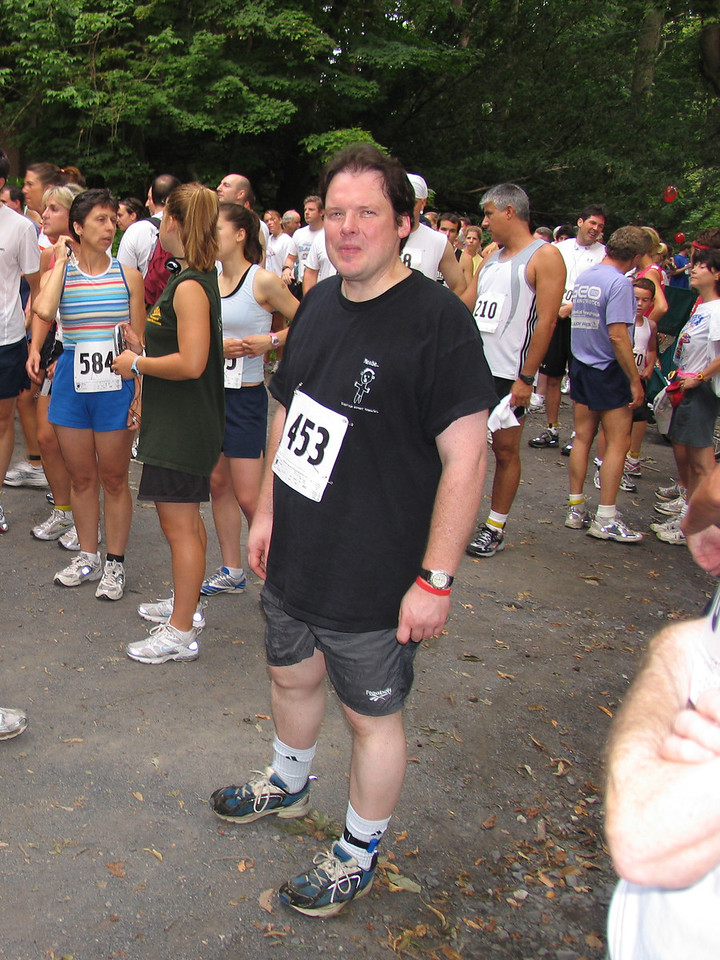 Daniel Walsh - Fairmont Park in Chestnut Hill - July 2005