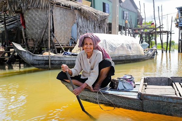 Tonlé Sap - Cambodja