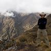 Kristi Eide, hiking in Peru