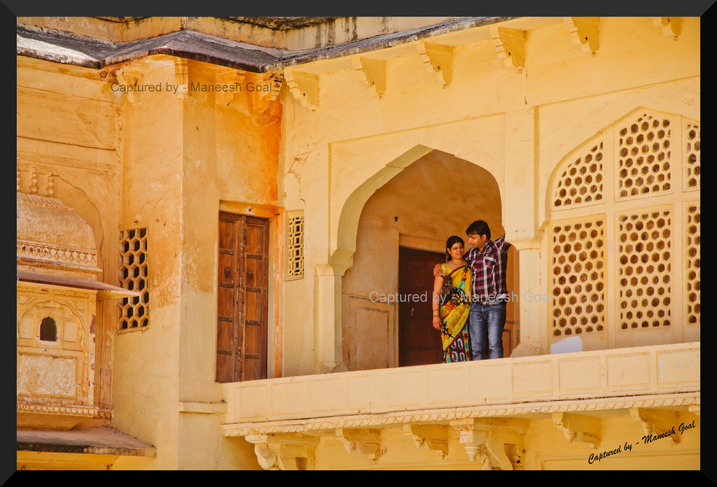 My Queen this is for you! | Inside the Amber (Amer) Palace, Jaipur (Rajasthan)